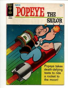 Popeye # 78 FN Gold Key Silver Age Comic Book Olive Oil Cartoon Spinach J371