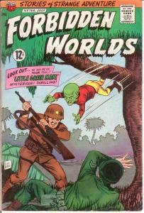 FORBIDDEN WORLDS 144 VG    July 1967 COMICS BOOK