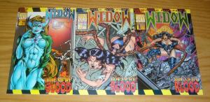 Widow: Bound by Blood #1-3 VF/NM complete series MIKE WOLFER ground zero 1996