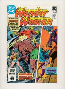 DC Comics WONDER WOMAN Huntress & Joker #282 1981 ~ VF (PF508)