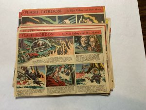 Flash Gordon's 1952 Tabloid Color Newspaper Sundays Lot Of 41