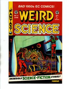 Weird Science #8 - EC Comics - 1950s reprint - Wally Wood - 1993 - (-NM)