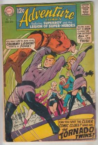 Adventure Comics #373 (Oct-68) FN/VF Mid-High-Grade Legion of Super-Heroes, S...