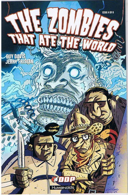 ZOMBIES THAT ATE the WORLD #4, NM, Guy Davis, 2009, Undead,more Horror in store