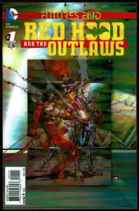 Futures End Red Hood/Outlaws 3-D Cover (2014, DC) 9.6 NM+