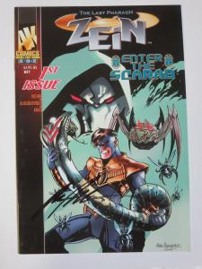 Zien #1 (AK 2003) Signed by Rafael Albuquerque (Third Published Work)
