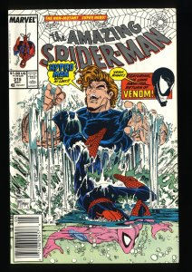 Amazing Spider-Man #315 NM 9.4 Newsstand Variant 2nd Venom! McFarlane!