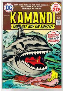 KAMANDI #23, VF, Jack Kirby, Last Boy on Earth, 1972, more JK in store