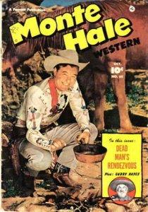 Monte Hale Western #65 FAIR; Fawcett   low grade comic - save on shipping - deta