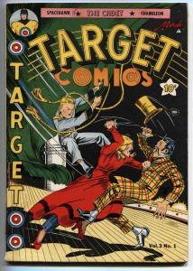 Target Vol 3 #1 Space Hawk by Basil Wolverton Cadet Golden Age