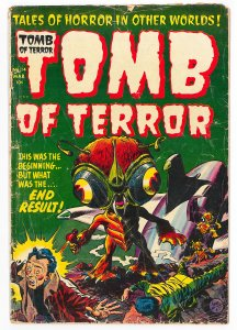 Tomb of Terror (1952) #14 GD, special science fiction issue, hard to find
