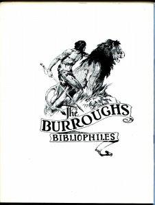 Burroughs Bulletin #59 1976-Girl From Farris's-Frank Frazetta-ERB-VF/NM