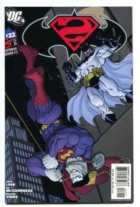 Superman/Batman #22 1st BATMAN BEYOND DC 2005