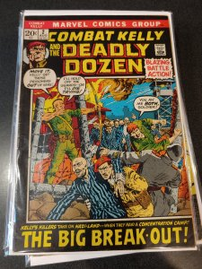 Combat Kelly and the Deadly Dozen #2 (1972)