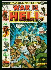 WAR IS HELL #1 1973- AL WILLIAMSON- DICK AYERS- BOB POWELL- MARVEL -VF