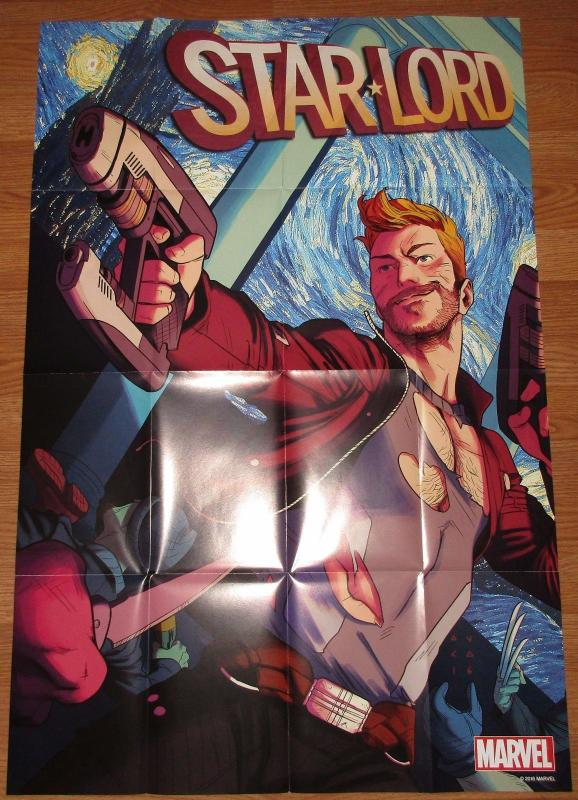 Star Lord #1 Kris Anka Folded Promo Poster (24 x 36) Marvel