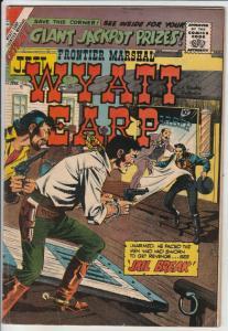 Wyatt Earp Frontier Marshal #25 (Jun-59) FN Mid-Grade Wyatt Earp