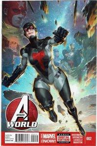 Avengers World #2 Jonathan Hickman NM