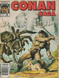 Conan Saga #36 - Conan the Barbarian - Magazine