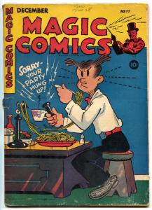 Magic #77 1945-Blondie- Lone Ranger-Popeye VG-