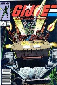 G.I. Joe, a Real American Hero #72 (Newsstand) VG; Marvel | low grade comic - sa