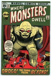 Where Monsters Dwell 12 Nov 1971 FI-VF (7.0)