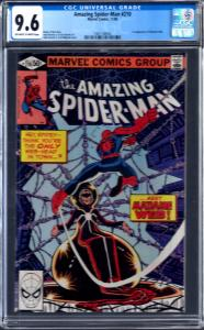 Amazing Spider-Man (1963 1st Series) #210 CGC 9.6 MADAME WEBB