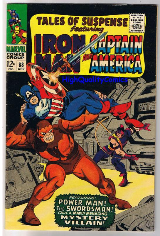 TALES of SUSPENSE #88, VF, Iron Man, Captain America, 1959, more in store
