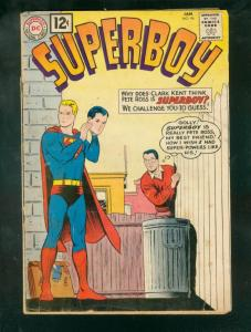 SUPERBOY #94 1962-12 CENT ISSUE-PETE ROSS APPEARS-DC-DC G