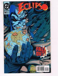 Eclipso #16 VF DC Comics Comic Book Fleming Feb 1994 DE23