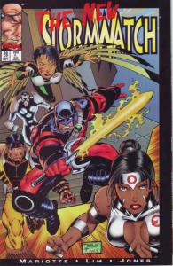 Stormwatch #28 VF/NM; Image | save on shipping - details inside