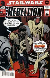 Star Wars: Rebellion #6 VG; Dark Horse | low grade comic - save on shipping - de
