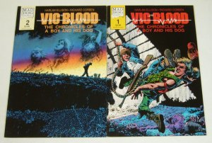 Vic and Blood #1-2 complete series - richard corben - harlan ellison set