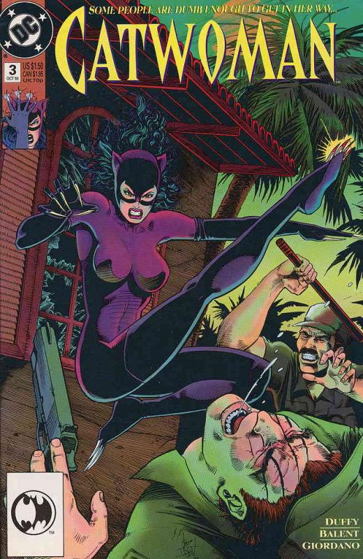 Catwoman (2nd series) #3 VF/NM; DC | save on shipping - details inside