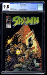 Spawn #35 CGC NM/M 9.8 White Pages