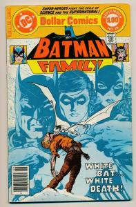DC Comics BATMAN Family #19 ~ 1978 VG+ (PJ47)