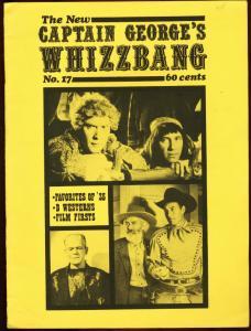 CAPTAIN GEORGES WHIZBANG #17-DOC SAVAGE-FANZINE VG