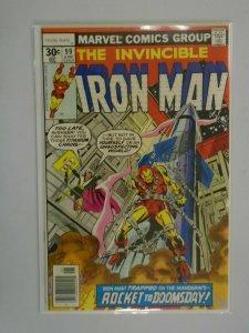 Iron Man #99 Newsstand edition 7.0 FN VF (1977 1st Series)