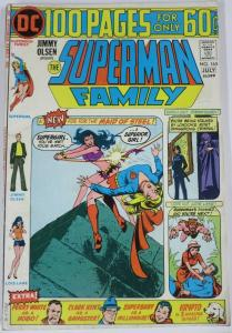 SUPERMAN FAMILY  #165 (DC) July, 1974 VERY GOOD