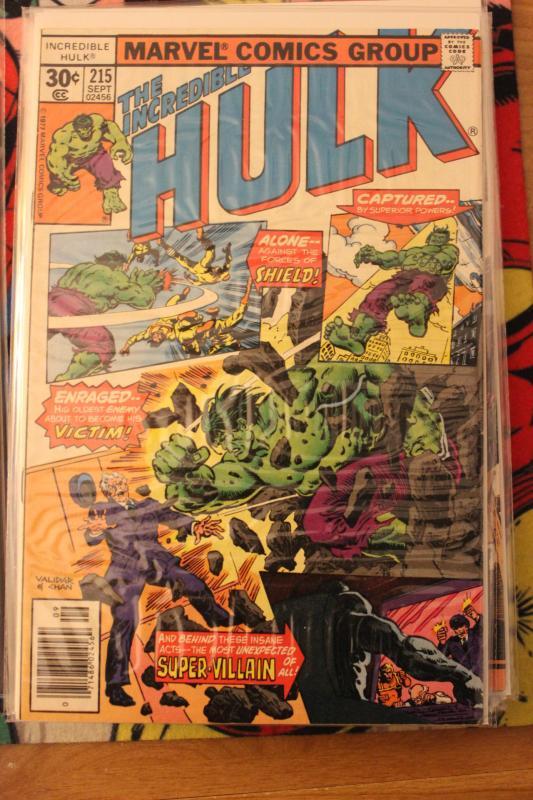 Incredible Hulk  215 FN/VF