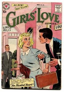 Girls' Love Stories #58 comic book 1958- DC Romance- SILVER-AGE