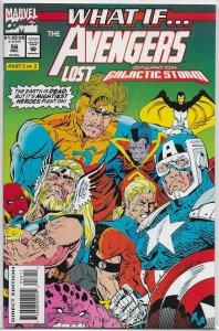 What If? (vol. 2, 1989) # 56 FN Avengers/Galactic Storm, Kaminski
