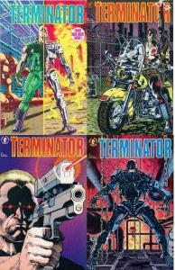TERMINATOR (1990 DH) 1-4  1st DH series/ movie tie-in!