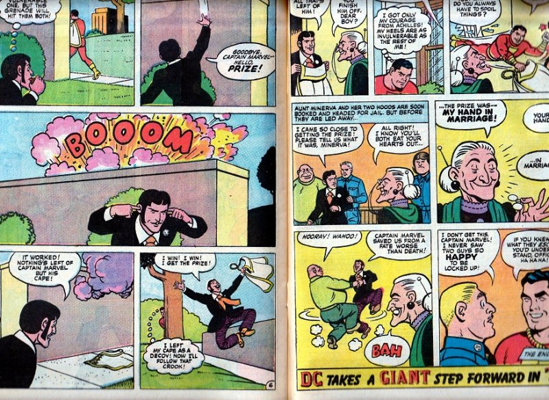 Shazam(vol. 1) # 10 Aunt Minerva !