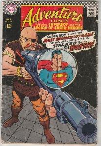 Adventure Comics #358 (Jul-67) VG Affordable-Grade Legion of Super-Heroes, Su...