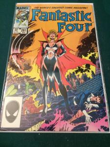 Fantastic Four #281 Sue Richards as Malice!