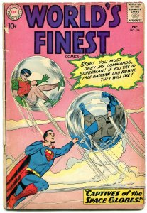 World's Finest #114 1960-Batman - Superman- Green Arrow G/VG