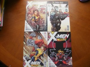 4 Near-Mint MARVEL Comic X-MEN GOLD #3 8 9 10 (2017) Secret Empire Kitty Omega