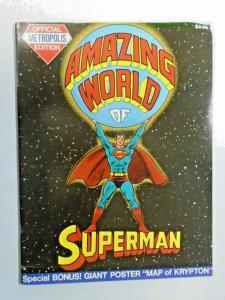 Amazing World of Superman #1 Treasury bagged and boarded 4.0 VG (1973)