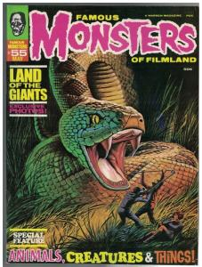 FAMOUS MONSTERS OF FILMLAND 55 FN May 1969